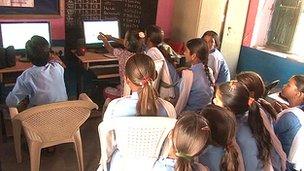 Education through the Net