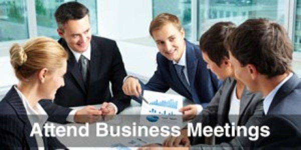 Attend-Business-Meetings