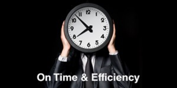 On-Time-Efficiently