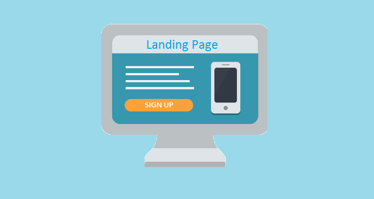 Create a good landing page