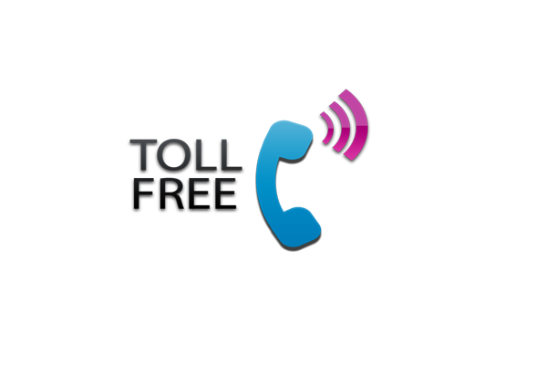 Offer a toll free number and make it visible
